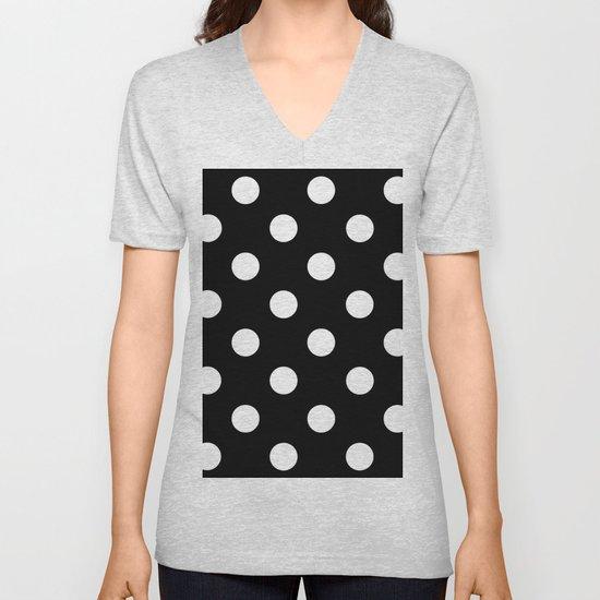 Polkadot (White & Black Pattern) by luxelab