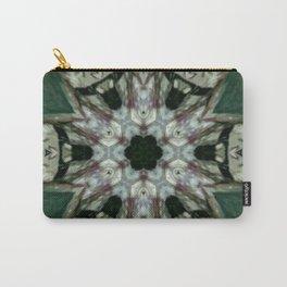 The Green Unsharp Mandala 6 Carry-All Pouch
