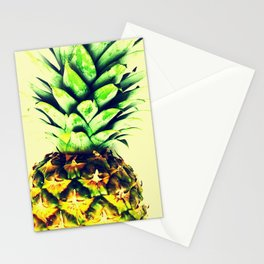 Delightful pineapple Stationery Cards