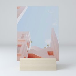 muralla roja Mini Art Print