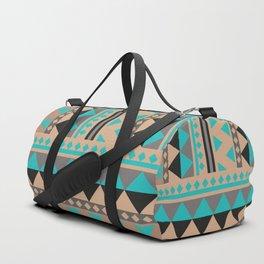 Aztec Pattern No. 28 Duffle Bag