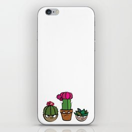 Angry Cacti iPhone Skin