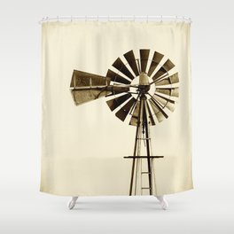 WINDMILL #2 Shower Curtain