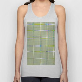 square countryside Unisex Tank Top