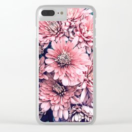 Flower Photography Pink Blossoms Spring Easter Pattern Clear iPhone Case
