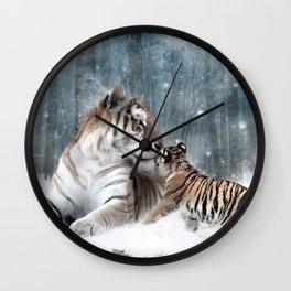 Tigers Wall Clock