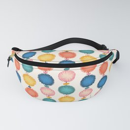 Party Pompoms Decoration Fanny Pack
