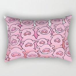 PIGS #2 Rectangular Pillow