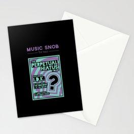Perpetual Hiatus Tour — Music Snob Tip #422 Stationery Cards