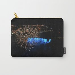 fireworks and waterfalls Carry-All Pouch