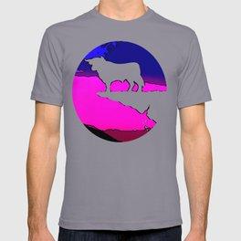 Banker Bull's Cliff - High Achiever Packman  T-shirt