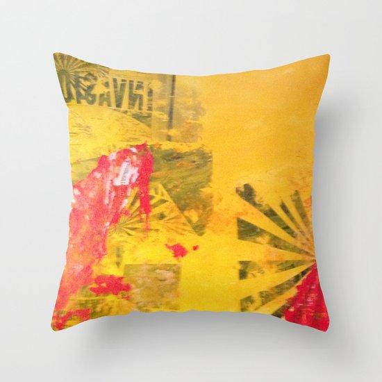 INVASION! Throw Pillow