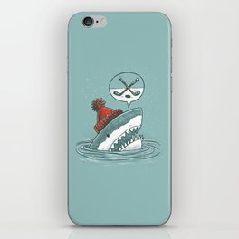 Hockey Shark iPhone Skin