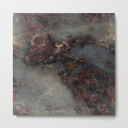Ambrosia Granite Watercolor Texture Metal Print
