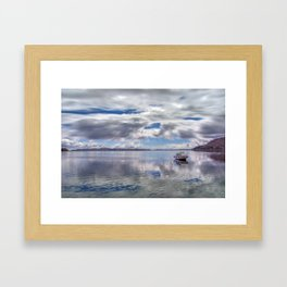 Lake Titcaca Framed Art Print