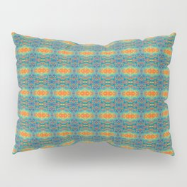 Prana Orange Pillow Sham