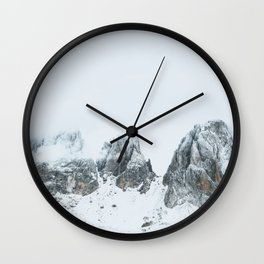 Italian Alps II Wall Clock