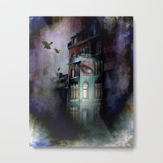 inside the haunted house Metal Print