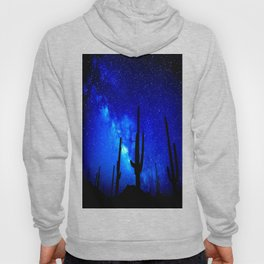 The Milky Way Blue Hoody