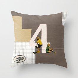 Boots - April Throw Pillow