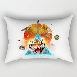 ERR-OR: Tiger Connection Rectangular Pillow