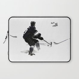 The Deke - Hockey Player Laptop Sleeve