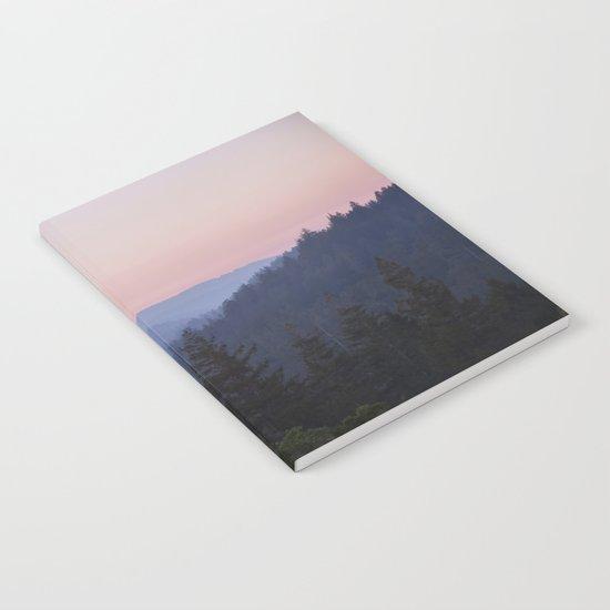 Sunset in the Santa Cruz Mountains Notebook