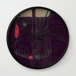6 finger Wall Clock
