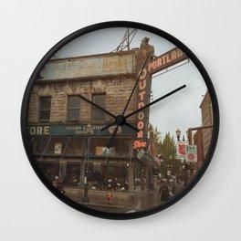 Explore Portland Wall Clock