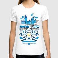 returns T-shirts featuring Magick Returns by Aphichat Treetaruyanon