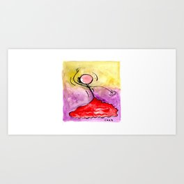 "#cagsticks ""Flamenco - A dance with passion"" Art Print"