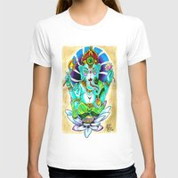 ganesh T-shirts featuring Ganesh by Lady Noire