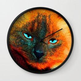 Mystic kitty Wall Clock