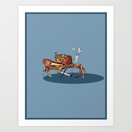 rough day Art Print