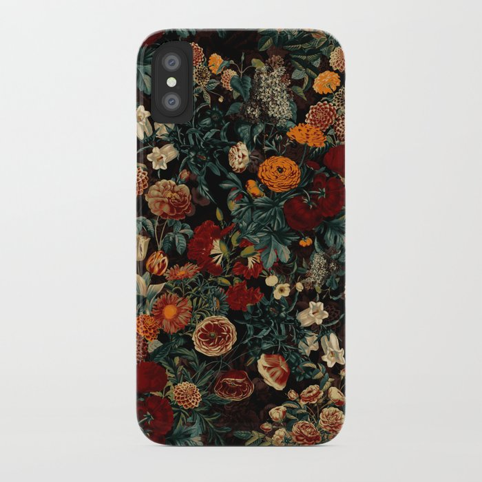 EXOTIC GARDEN - NIGHT XXI iPhone Case