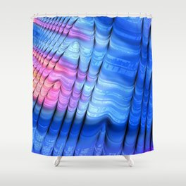 Nip, Tuck and Roll Shower Curtain