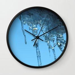 Ice Photo 2 Wall Clock