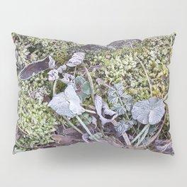 Frozen Foliage Pillow Sham