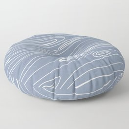 Soul river Floor Pillow