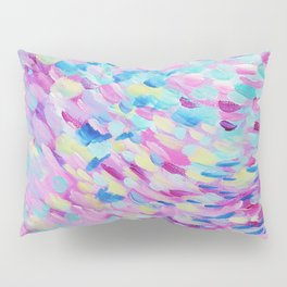 Colourful / Multicoloured Abstract Alive Painting Pillow Sham