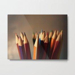 Colour Splash Metal Print