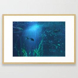Beam Framed Art Print