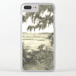 Wild Landscape Clear iPhone Case