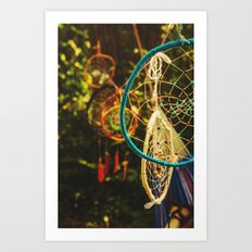 Catch a Dream Art Print