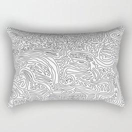 Thicker Linework Rectangular Pillow