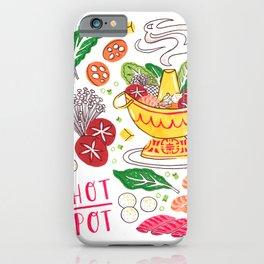 Hot Pot Shabu Shabu Soup iPhone Case