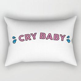 Cry Baby Rectangular Pillow