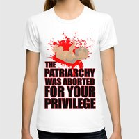 patriarchy T-shirts featuring Baby Patriarchy #1 by Snarky Tiger Designs