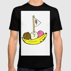 Banana Boat MEDIUM Mens Fitted Tee Black