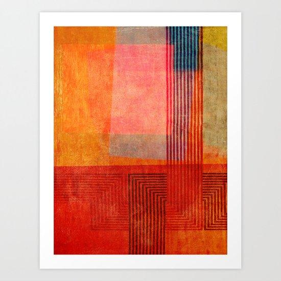"""A Morte do Velho Chico"" Inspired by the ""Quintet Amorial"" music. Art Print"